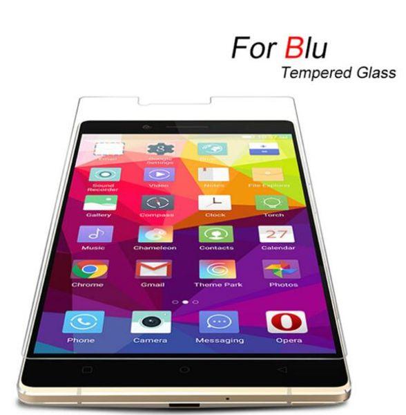 Factory Price For BLU Tempered Glass Screen Protector For BLU Vivo 5 5R Air 6 XL 2 Studio 6.0 LTE Selfie C Mini Dash J DO70X