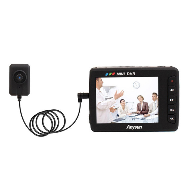 2.5 inch LCD Angel Eye Portable Mini Video Recording System Button DVR Video Recorder Camera