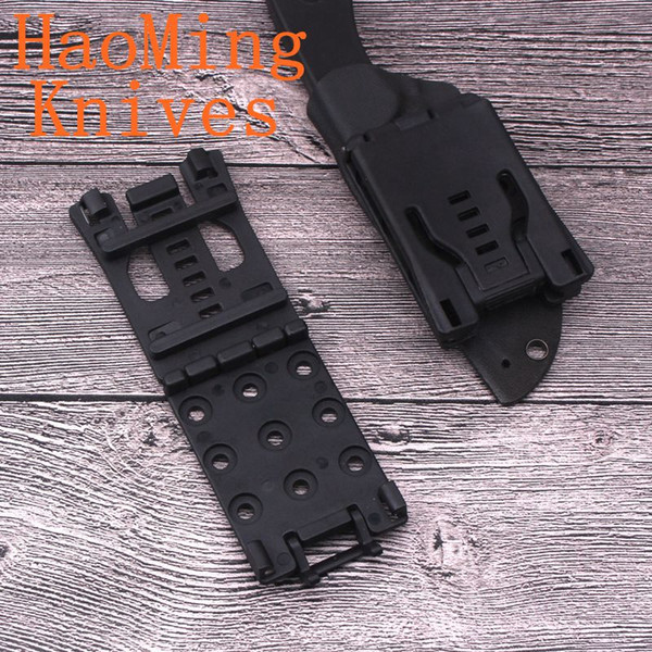 12pcs Multifunction Waist Clips Camping Survival Hunting Tactical Knife K-Sheath Belt Clips Outdoor EDC Gear Outdoor Tools folding knif gift