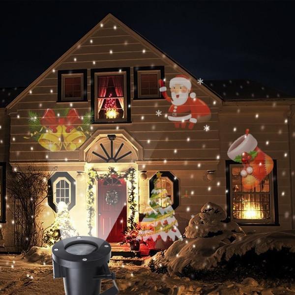 Laser Decoratif Exterieur Noel