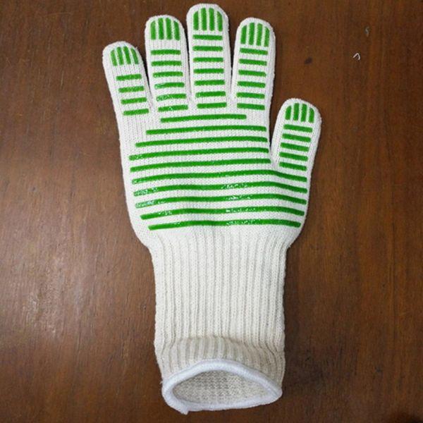 Heat Holder Handschuhe Hochtemperaturbeständigkeit Anti Küche Ofen Handschuhe Microwellenresistent Topf Werkzeuge BBQ Grillen Kochen