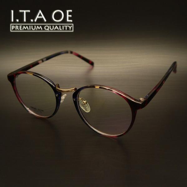 Wholesale- ITAOE K1 Worldwide Fashion Style Elastic Pure TR90 Women Female Lady Optical Eyewear Frames Glasses Spectacles Myopia Reading