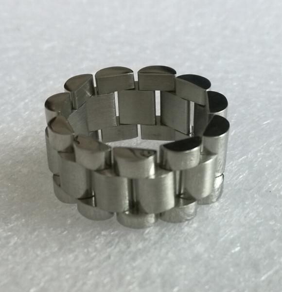 Frete Grátis 10mm de Largura de Aço Inoxidável Adjustabler Anel de Ligação de Banda Flexível