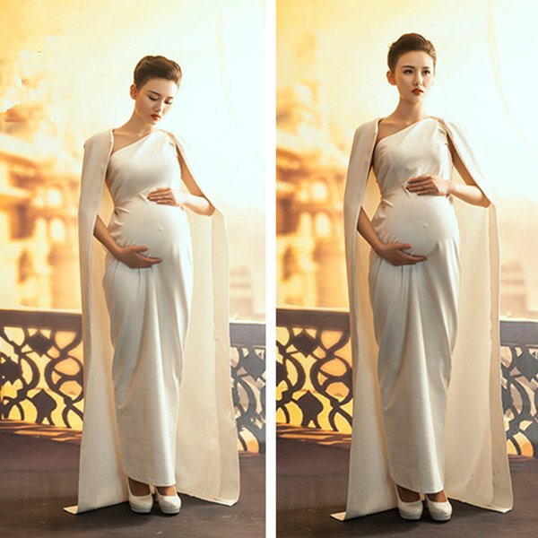 2018 Free Size Maternity Dresses Clothes For Pregnant Women Formal ...