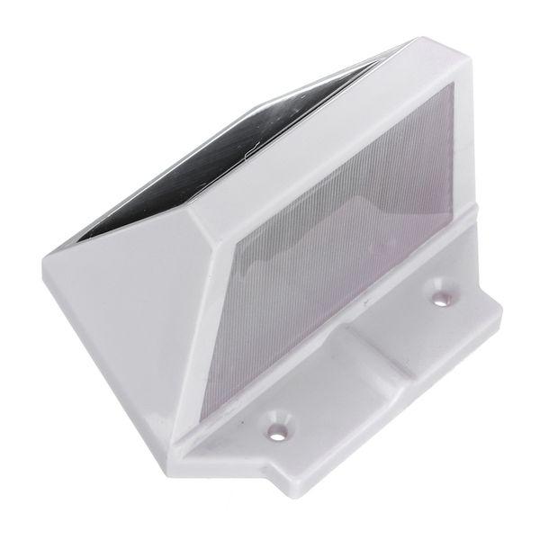 Mising Rechargeable Waterproof Solar Power 2 LED Solar Light Motion Sensor Lamp Switch Wall Garden Light Outdoor Stair Lamp