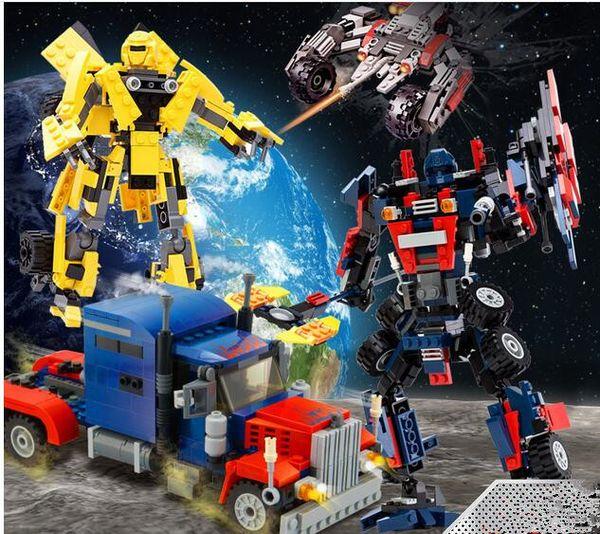 2017 superventas y divertidos Enlightenment Puzzle Patch Assembly Assembly Plastic Building Blocks Juguetes vehículo juguetes y regalos