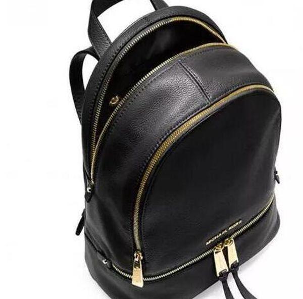backpacks designer 2017 fashion women lady black red rucksack bag charms free shipping