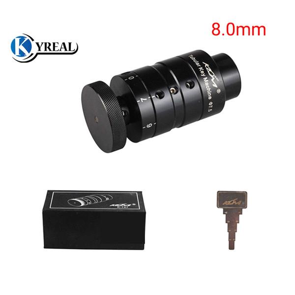 Car key Copy Machine 8.0mm Auto Tubular Key Cutter Key Cutting Machine Lock Pick Set Locksmith Tools