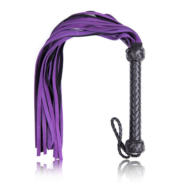 Adult Games Sex Whip Sexy Flogger Toy Hand Made Genuine Leather Whip Sex Fetish Leather Flogger Horse Whip