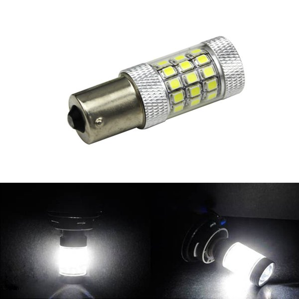 LEEWA 2pcs White 1156 650LM 4.8W 2835SMD 42LED Car LED Light Source DRL Fog Headlight #5291