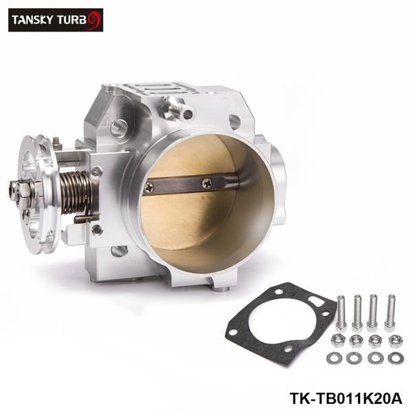TANSKY - High Flow Aluminum Silver Intake Manifold 70mm Throttle Body Performance Billet For Honda K20A TK-TB011K20A