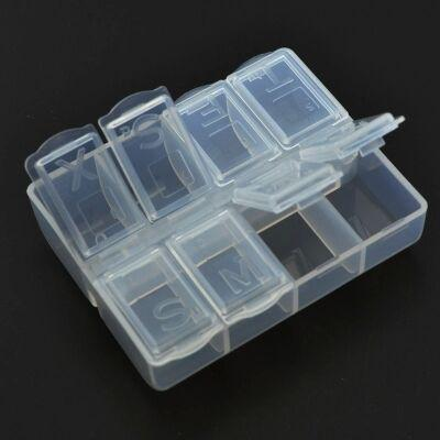 2019 New Fashion Plastic Storage Box Small Hardwareolder Container For Small accessories 301-1