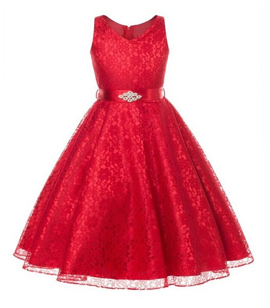 girls party dress kids 2017 designer children teenagers prom party ceremonies gowns dresses birthday princess dress infantil