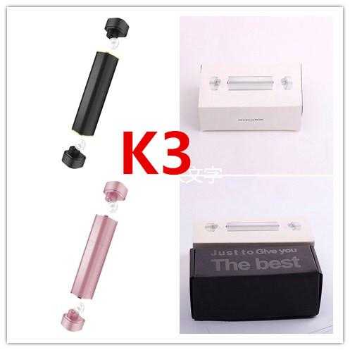 K3 Twins Wireless Bluetooth V 4.1 Stereo Headset Dual Mini Bluetooth Earpiece True bluetooth Earbuds with 500Amh Power Bank
