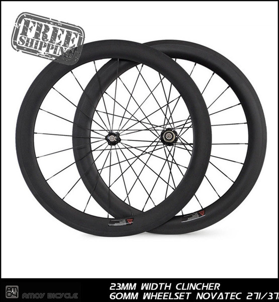 2014 most popular 23mm width carbon Racing Road 60mm tubular 700c Series wholesale china wheel from china new