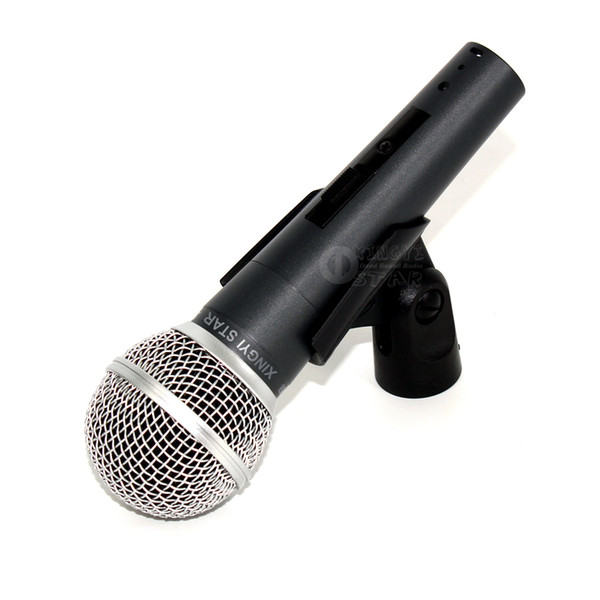 Quality Switch SM 58 58LC SM58LC Clear Sound Handheld Wired Dynamic Karaoke Microphone Mike For SM58S SM58SK Moving Coil Mic PC Record Video