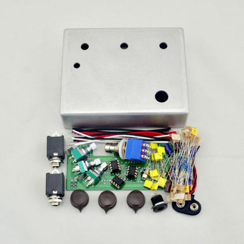 Make Your Overdrive pedal All Kit With 1590BB Aluminum Enclosure Box