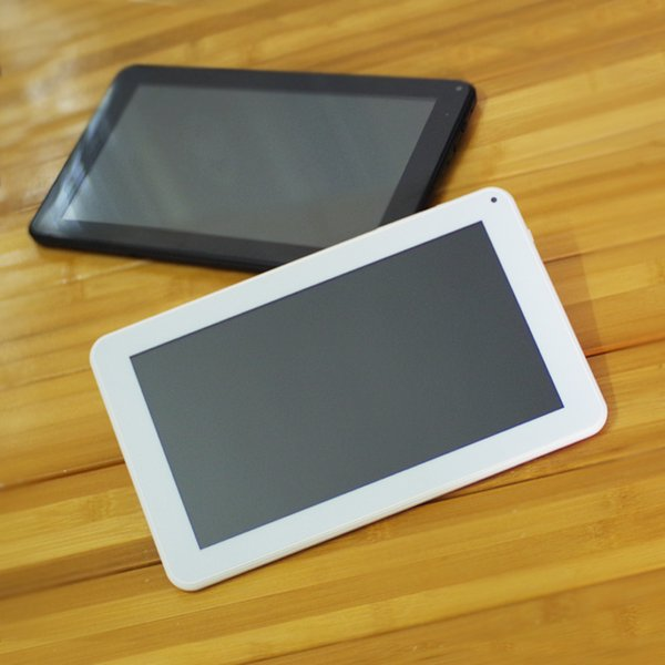 A33 Tablet pc Dual Camera Android 4.4 Quad core 512M WIFI OTG 9inch Protective film and capacitance pen DHL