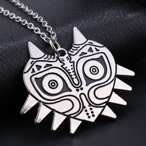 Free shipping movie jewelry the legend of zelda pendant necklace free shipping movie jewelry the legend of zelda pendant necklace majoras mask pendant game jewelry accessories christmas gifts aloadofball Choice Image
