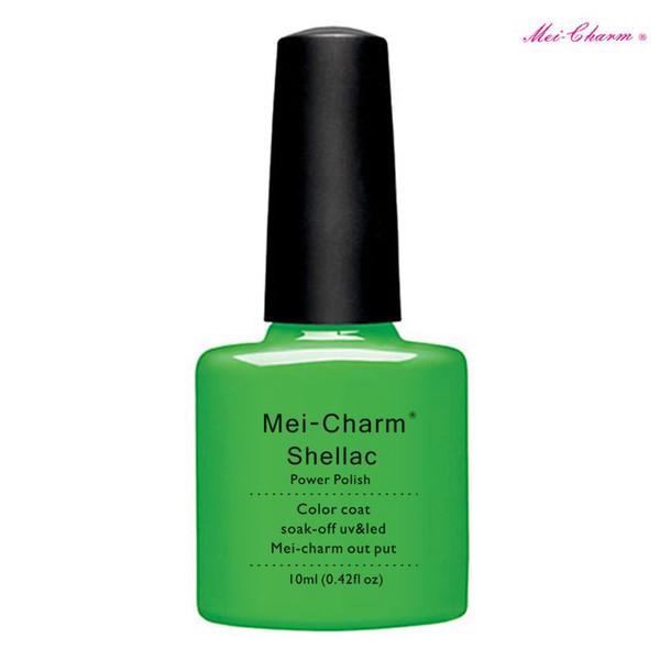 top popular Nail Art Design Manicure Set mei-charm 10Ml Soak Off Gel Polish LED UV Gel Nail Polish Lacquer Varnish Base Top Coat 2021
