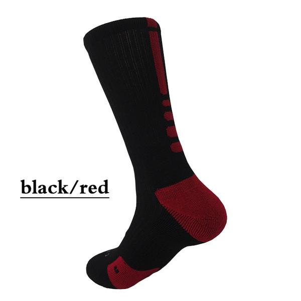 preto com vermelho