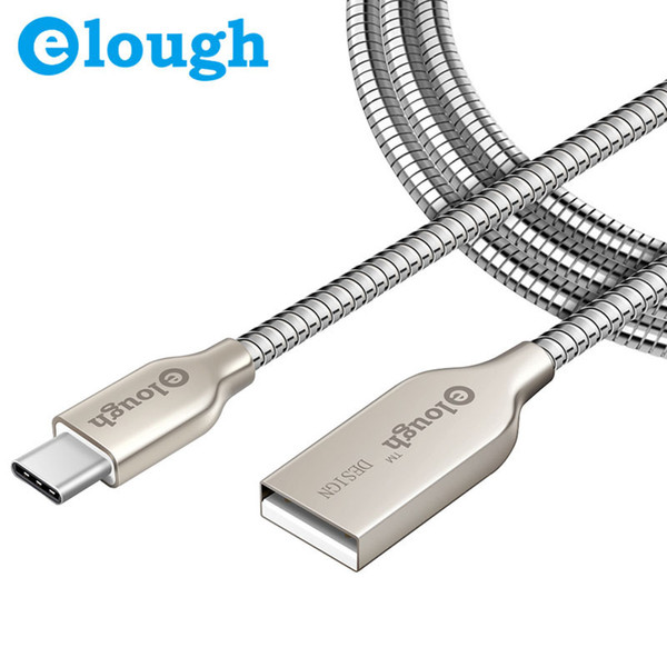 Elough 2.4a All Metal Type C Charger Cable For Xiaomi Mi5 4c Huawei ...