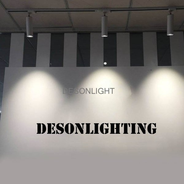 2019 Flush Mount Led Ceiling Light Adjustable Spotlights Dimmable 12w Cree Cob Track Light Spot Bulb Surface Mount Downlight Fixture Black White From