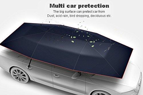 High Quality Car Tent Umbrella Sunshade Roof Cover Portable Semi-automatic Outdoor UV Protection & High Quality Car Tent Umbrella Sunshade Roof Cover Portable Semi ...