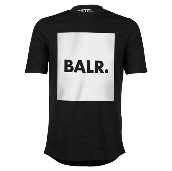 High-quality 2017 fashion Euro size Football field print balr t shirt men&women NL brand clothing round bottom long back t-shirt