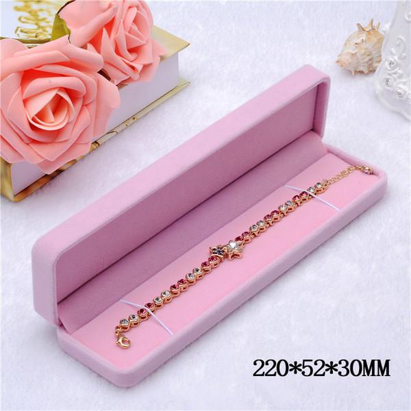 Розовый (Браслет коробки)