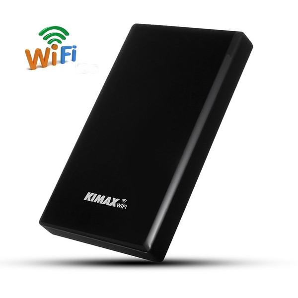 Vente en gros 2.5 '' USB3.0 WIFI SATA Disque dur HDD Boîtier HDD Case3.0 Disque dur Box NAS Routeur sans fil pour disque dur