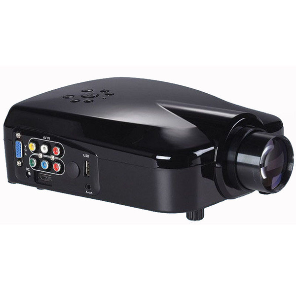 Wholesale-Portable LED Mini Projector 640*480 Kenitoo MC-22K Home Projector With HDMI USB Multi-media Theater Projector Free ShIPPING