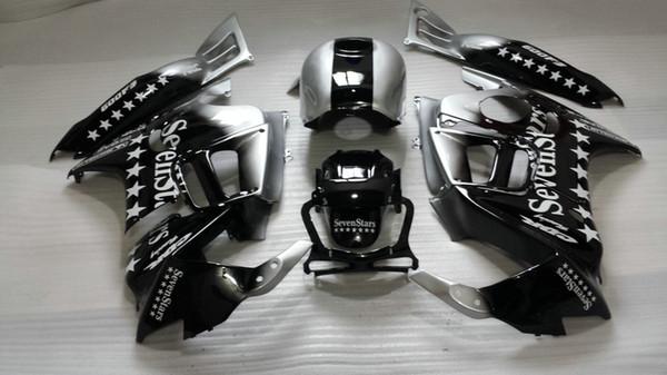 Fairing kit for Honda CBR600 F3 95 96 silver black body repair fairings set CBR 600 F3 1995 1996 OT01