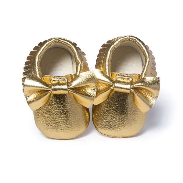Marca Primavera Scarpe da bambino Cuoio Neonato Ragazzi Scarpe da donna Prima camminatori Mocassini bambino 0-18 mesi