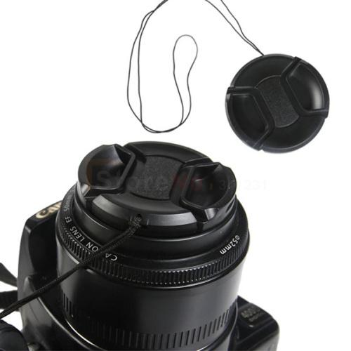 Wholesale-2pcs 72mm Center Pinch Snap-on Front Lens Cap For Can&N 5D2 5D3 5DII 5DIII 60D 6D 7D 18-200 28-200 mm Lens Filters