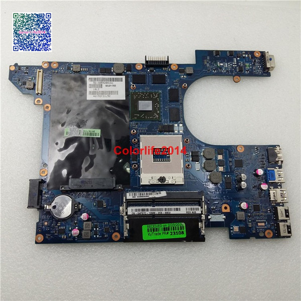 best selling LA-8241P 4P57C For Dell Inspiron 15R 7520 Motherboard with Discrete Graphics Card HD7700M 2GB Mainboard tested & Working perfect