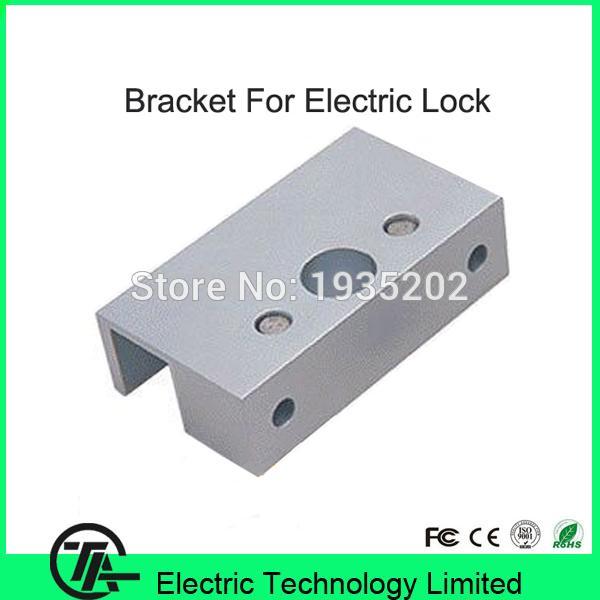 Wholesale- U bracket for bolt lock electric lock U bracket for frameless glass door lock mini u bracket U100C