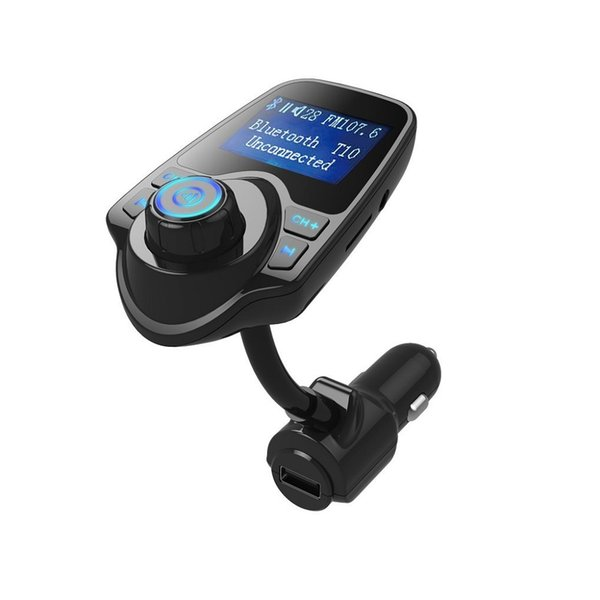 FM Transmitter Bluetooth Car Kit MP3 Player Wireless Radio Adapter Audio Receiver Stereo Music Modulator Car Kit with USB Charger