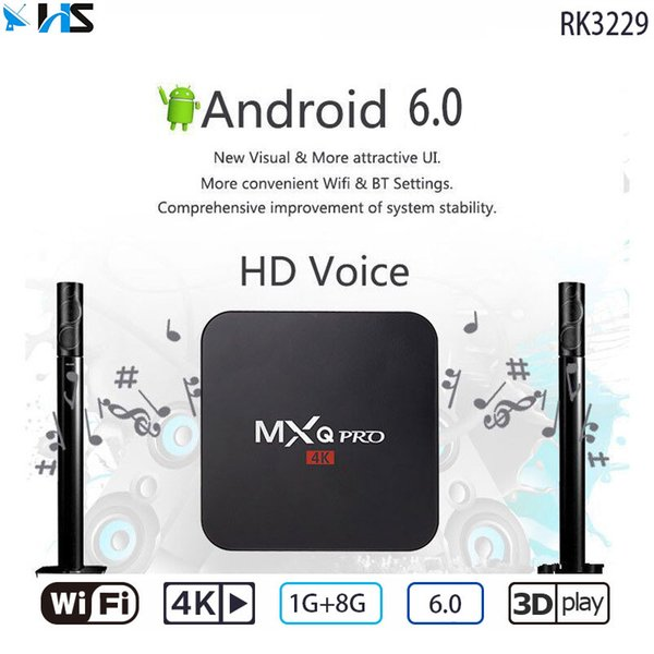 Hot Kd 17 1 Android 6 0 Rk3229 Mxq Pro 4k Tv Box Better Than  Mxq/A95x/H96/Qbox/V88/Mx9/A95x R1 Tv Box Sets Open Box Tv From  Hongshuang518, $18 1|