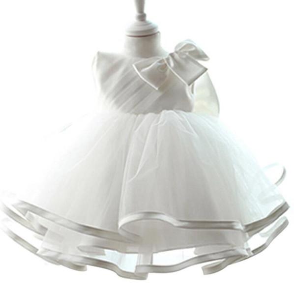 Großhandel Lace Prinzessin Kleid Neugeborenen Taufe Kleider Für Baby ...