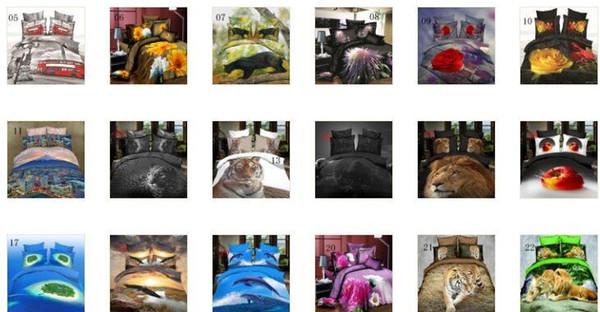 22 стиль 3D Волк животных постельное белье простыня пододеяльник наволочки не одеяло 4 шт Королева