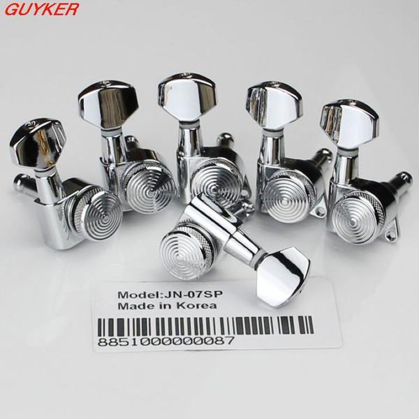 6 in line links Gitarren Mechaniken geben Mechaniken CR