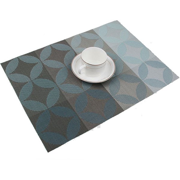 Wholesale-1Pcs PVC Quick-drying Placemats Insulation Mats Coasters Kitchen Dining Table Mat