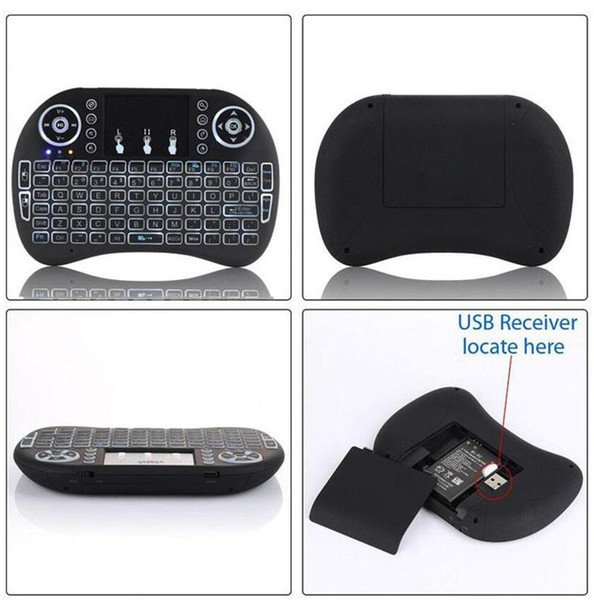 best selling Hot Sale Fly Mouse For Google Tv Box MINI PC Touch Flying Squirrel A21 2.4G Wireless Qwerty Wifi keyboard Free DHLShipping