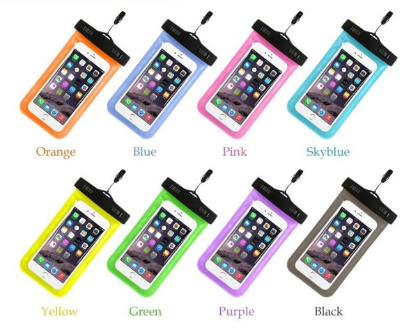 Wasserdichte Tasche Universal Durable Underwater Dry Bag mit Armband Strap für Apple iPhone 7,6S, 6S Plus, 5S, Samsung S7 S6 Rand