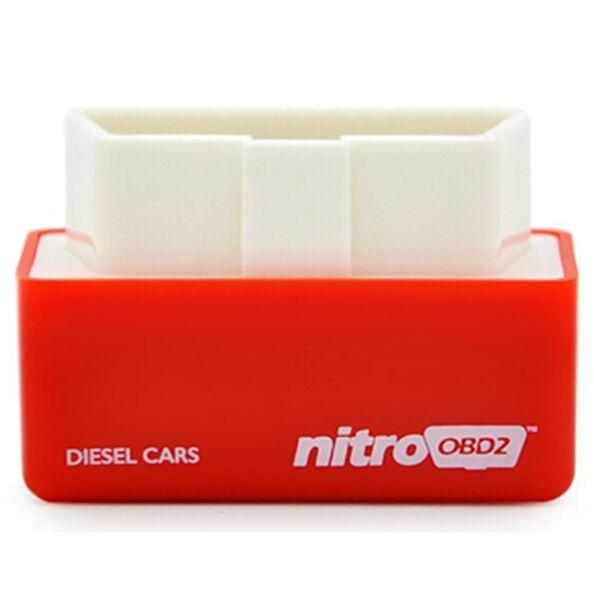 NitroOBD2 Diesel Car Chip Tuning Box More Power / More Torque Plug and Drive OBD2 Chip Tuning Box Nitro OBD2
