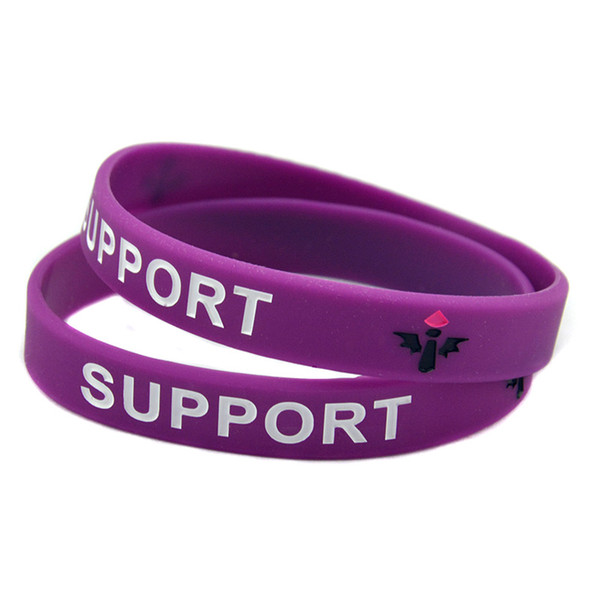 Wholesale 100PCS/Lot LOL League Of Legend Silicone Wristband Bracelet With ADC JUNGLE MID SUPPORT TOP