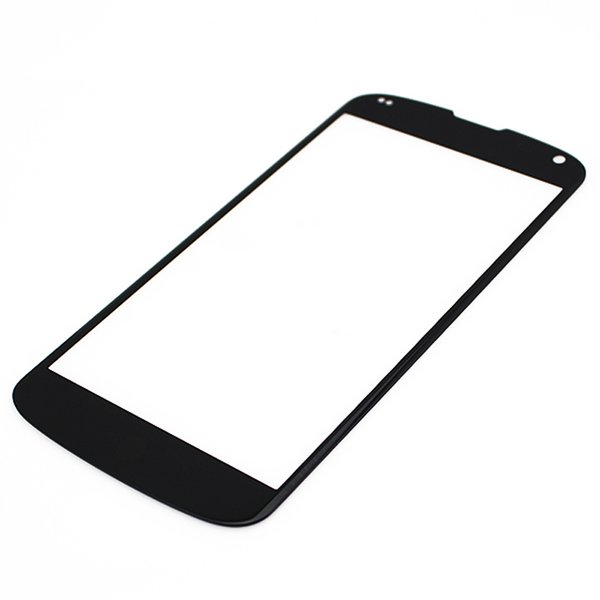100 ADET Dış Ön Ekran Cam Panel Lens Değiştirme LG Google Nexus 4 5 5x ücretsiz DHL
