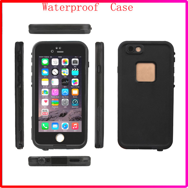 New Coming 100% Waterproof Phone Case Shock proof defender cases cover for Iphone 6S iphone 6s plus with Retail Box