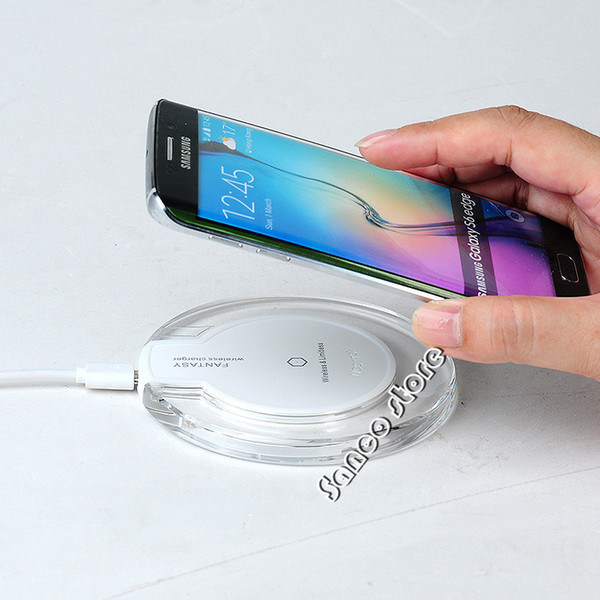 best selling 2017 hot sales Wireless Charger Qi Wireless Charging Pad for Samsung Galaxy S8 plus Note5 and All Qi-Enabled Devices for Iphone 7 Plus